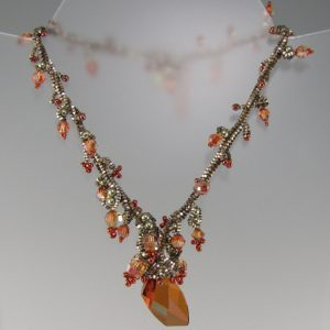 MGS Designs Ochre Necklace