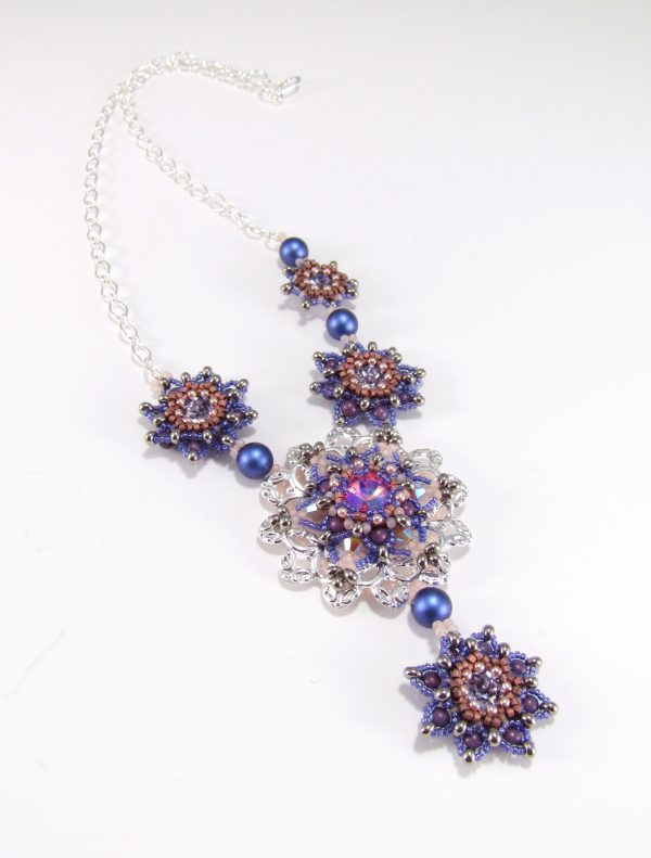 Andromeda Necklace - Purple version