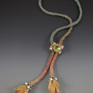 Queen Isabella's Sceptre Necklace project gold