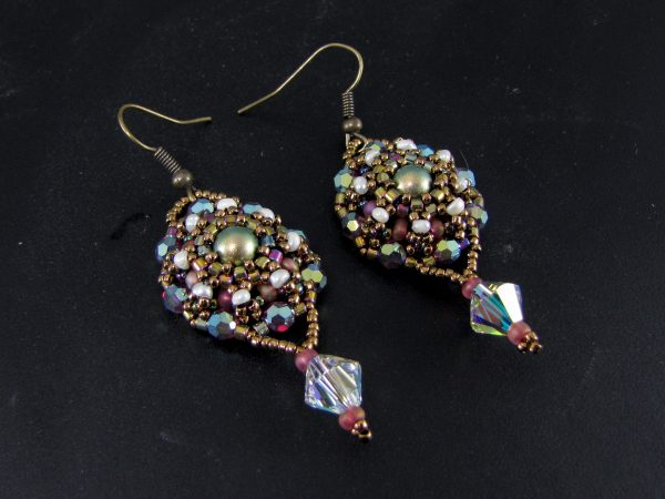 MGS Designs Lumanthera Earrings and Pendant