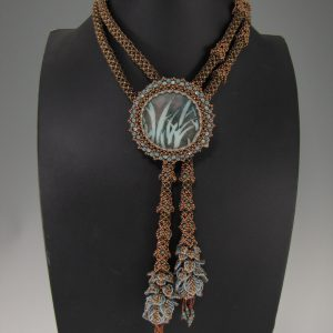 MGS Designs Falling Leaves Lariat