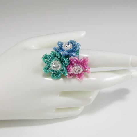 MGS Designs Little Lilies Ring