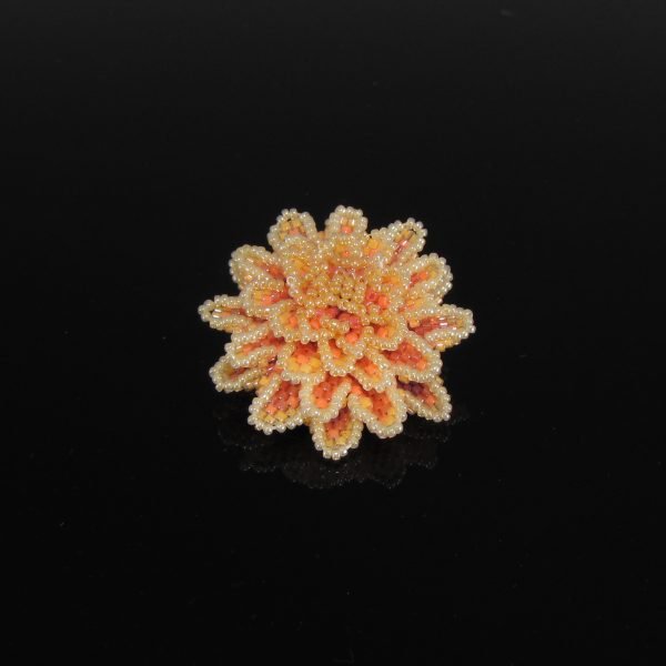 MGS Designs Dahlia Brooch