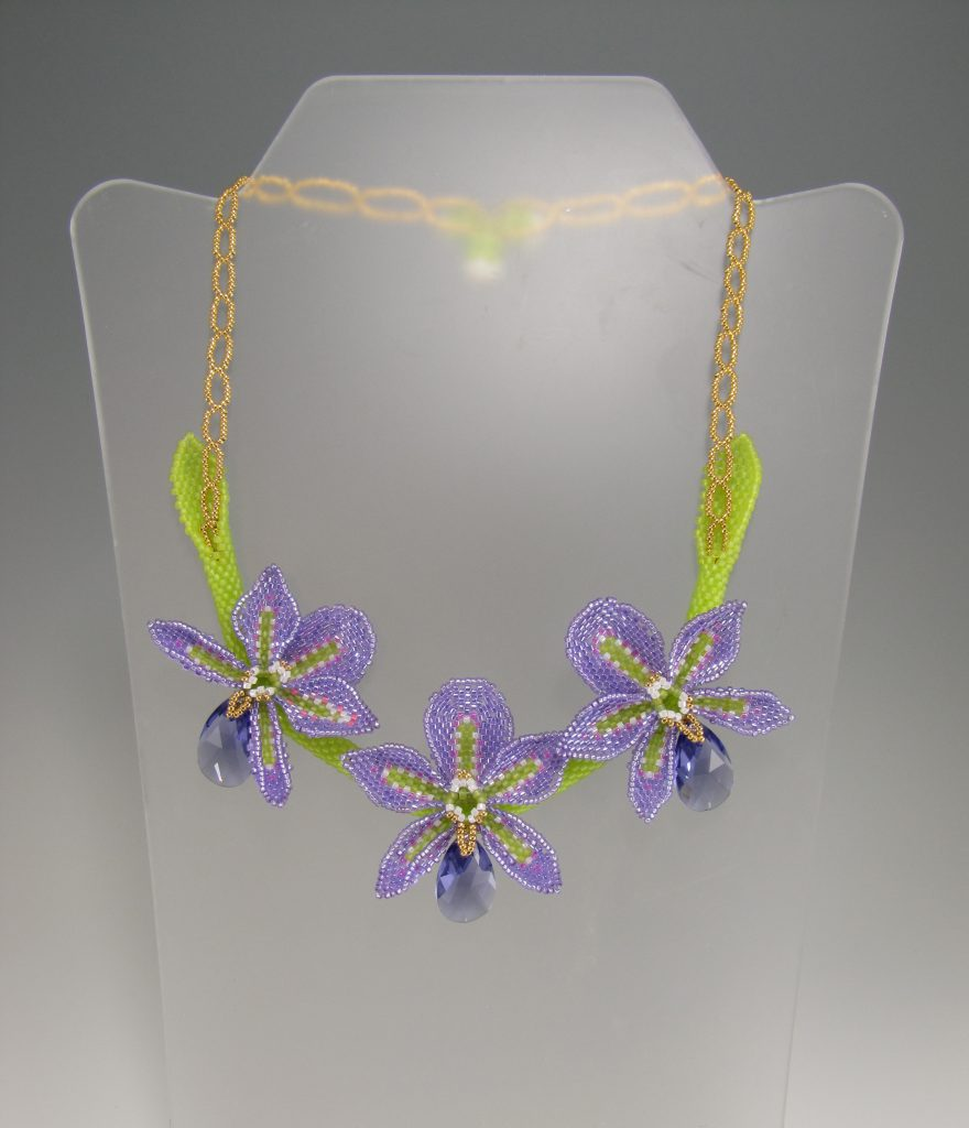 MGS Designs Orchid Necklace